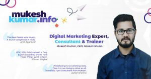 Digital Marketing Trainer
